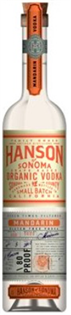 Hanson Of Sonoma Vodka Organic Mandarin 750ml